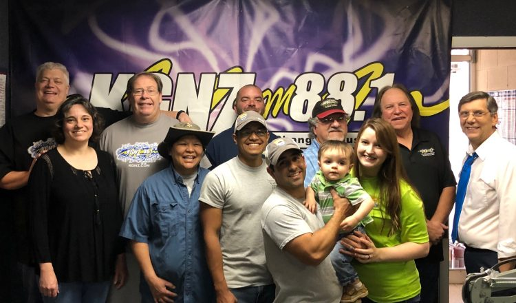 THANKS FOR YOUR SUPPORT OF THE RADIO MINISTRY OF KGNZ!