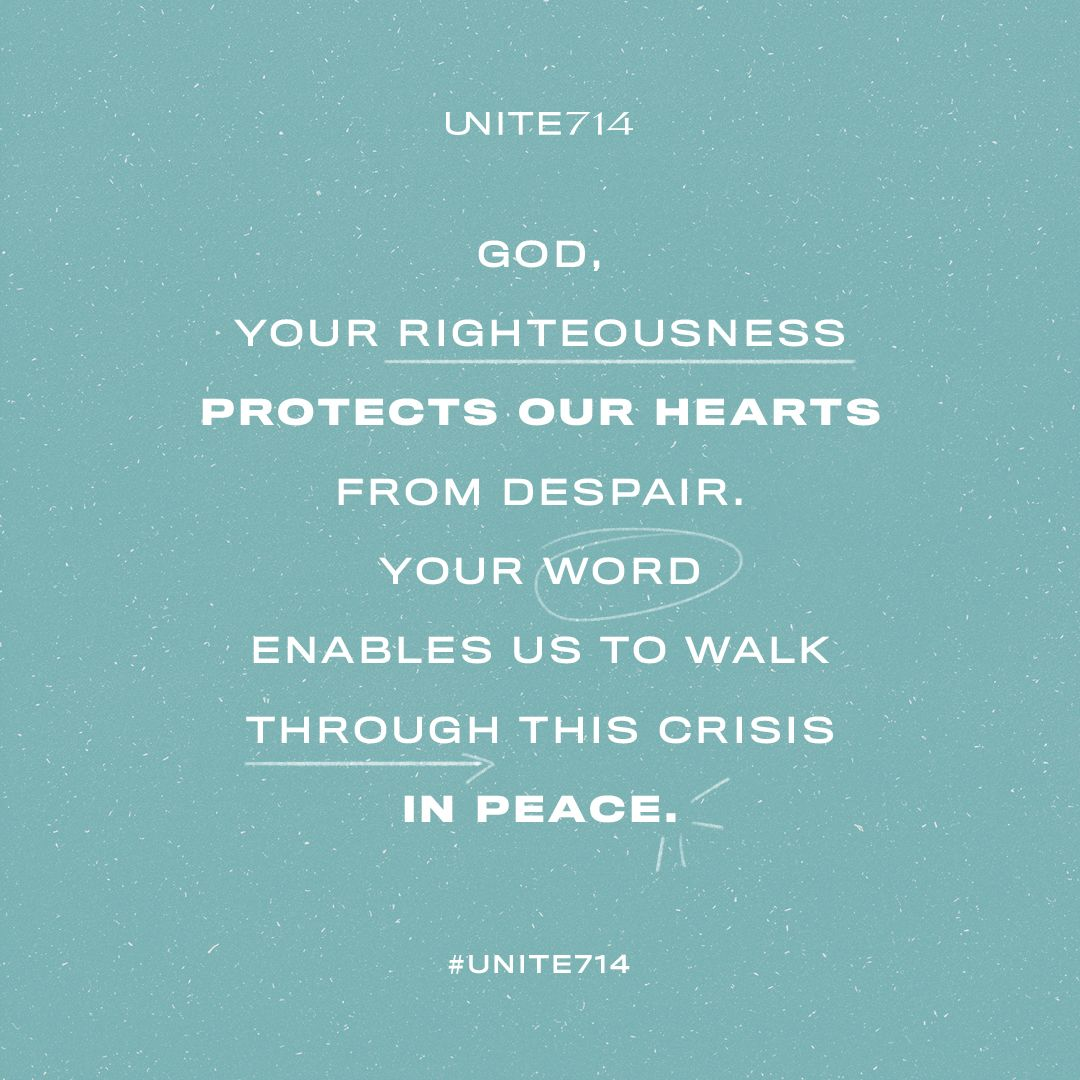 UNITE 714 A CALL TO UNIT THE BODY OF CHRIST IN PRAYER